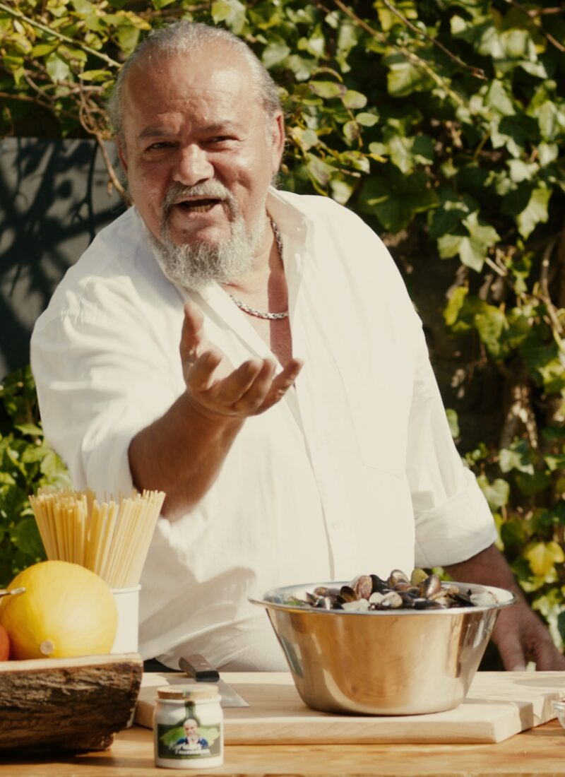 Linguine mit Muscheln auf griechische Art