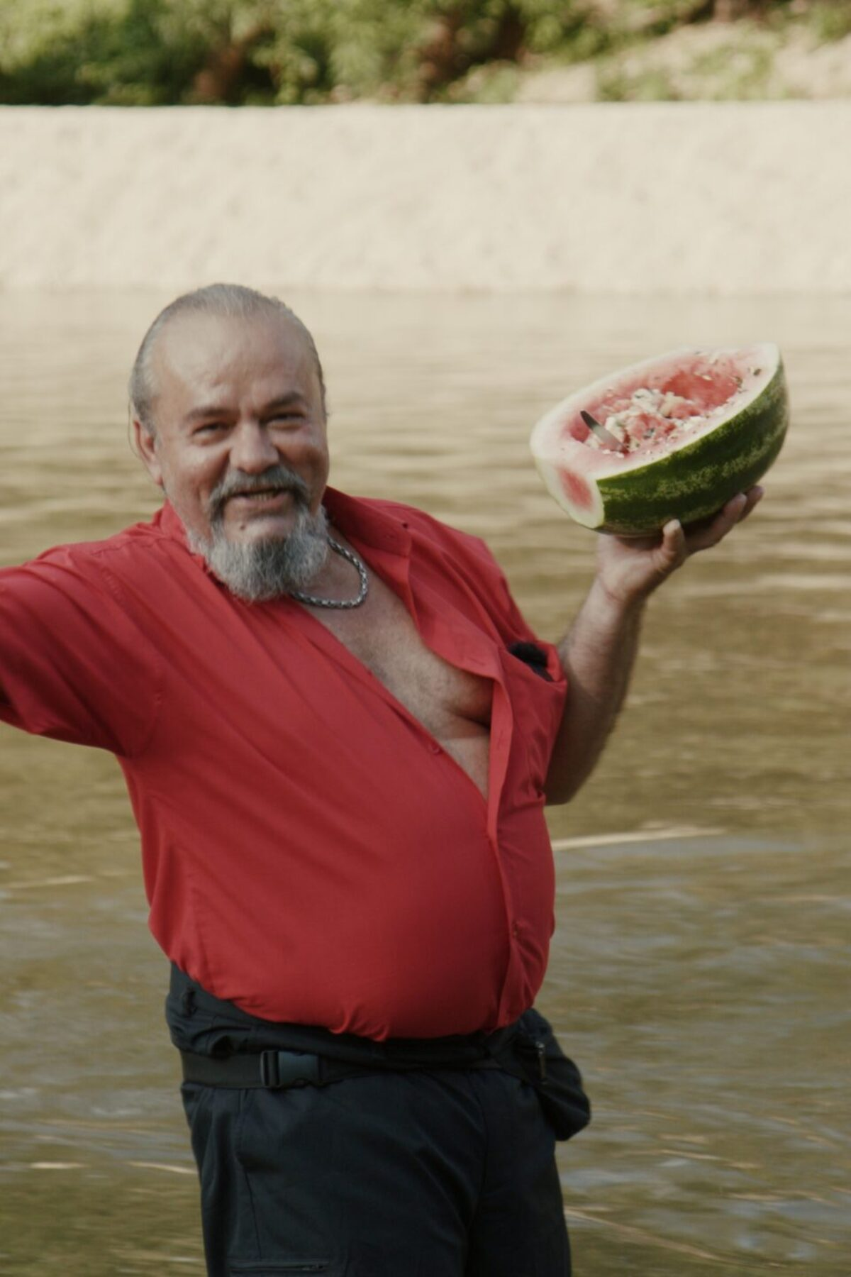 Griechischer Wassermelonensalat mit Feta